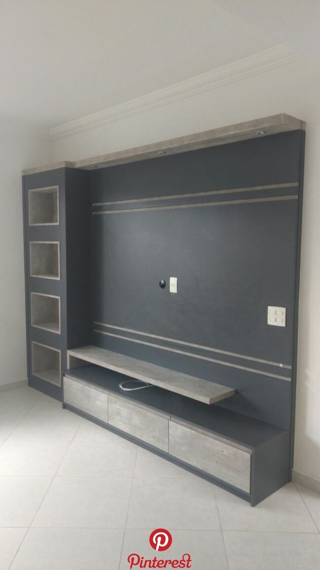 Lcd Panel Design Tv Unit Design Tv: Meuble Tv Angle, Living Room Tv Unit, Living Room Decor