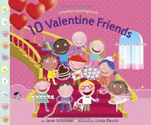 10 Valentine Friends by Janet Schulman She read this by herself on 2/8/17 and it took her 14 minutes. It was not preread to her and proved to be slightly challenging.