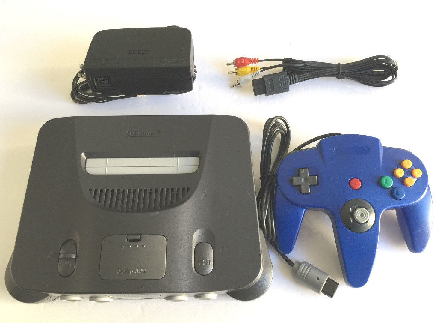 Nintendo 64 Console System Complete N64 NUS-001 - Tested