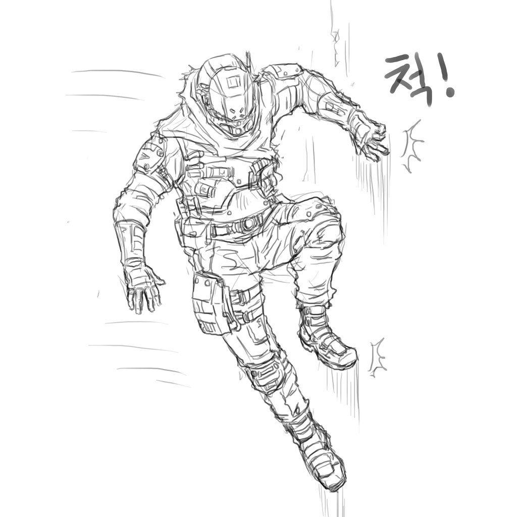 wall running pilot   Titanfall   Pinterest   Sci fi ...