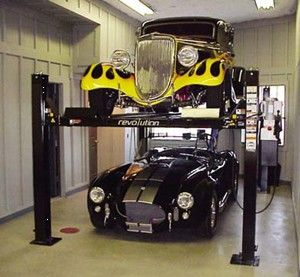 Car Lifts For Home Garage >> 4 Post Car Lift For Home Garage Garage Interior Garage