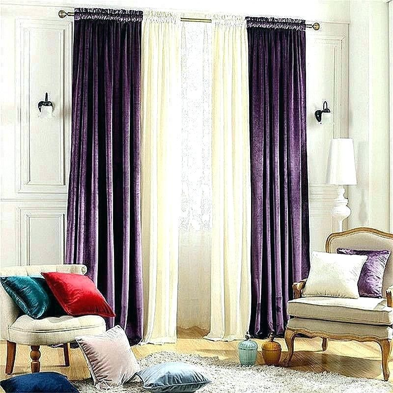 living room with purple drapes - Google Search | Purple ...