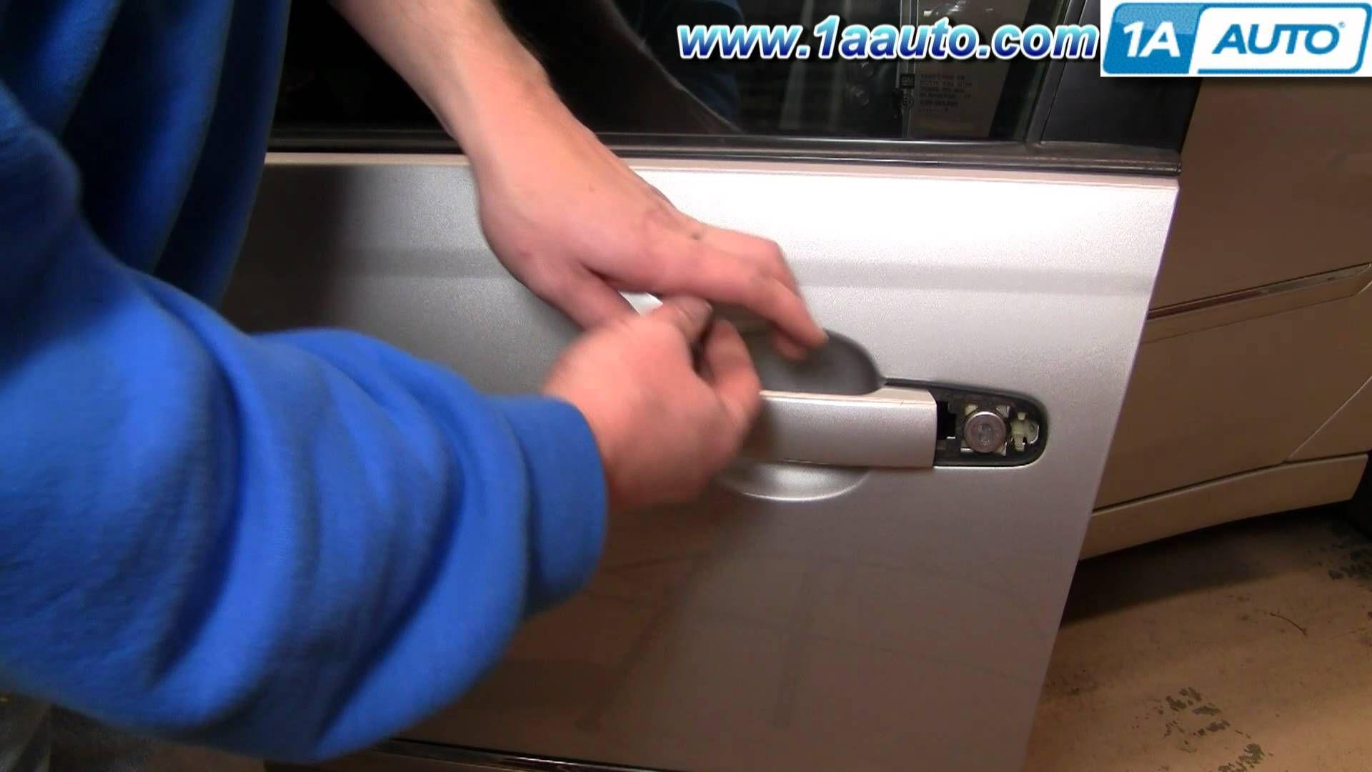 How To Install Replace Outside Door Handle Chevy Malibu 04 08 1aauto Com Exterior Door Handles Chevy Malibu Door Handles