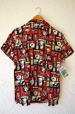 ad7fea6d Disney Pixar Reyn Spooner The Incredibles Hawaiian Shirt, Women's Medium,  NWT