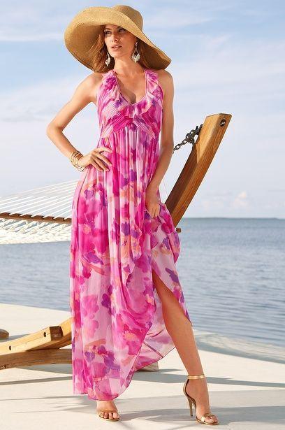Vestidos de verano para mujeres de 50 anos