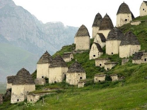 North Ossetia City of the Dead - Dargavs, Russia