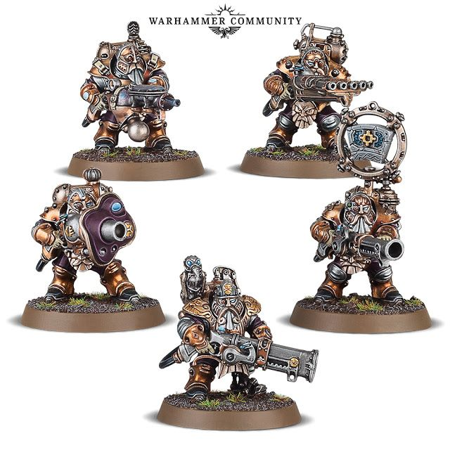 Games Workshop New Age Of Sigmar The Kharadron Overlords