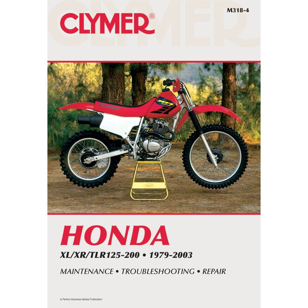 Honda XL/XR/TLR motorcycle repair manuals are written specifically for the  do-it-yourself enthusiast. From basic maintenance to troubles