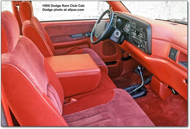 1996    Dodge       Ram    pickup interior   MOPAR  Trucks      Dodge       ram