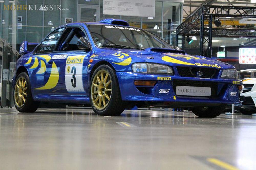 Colin Mcrae S 1997 Subaru Impreza Wrc Is Up For Sale Carscoops Subaru Wrc Subaru Impreza Subaru