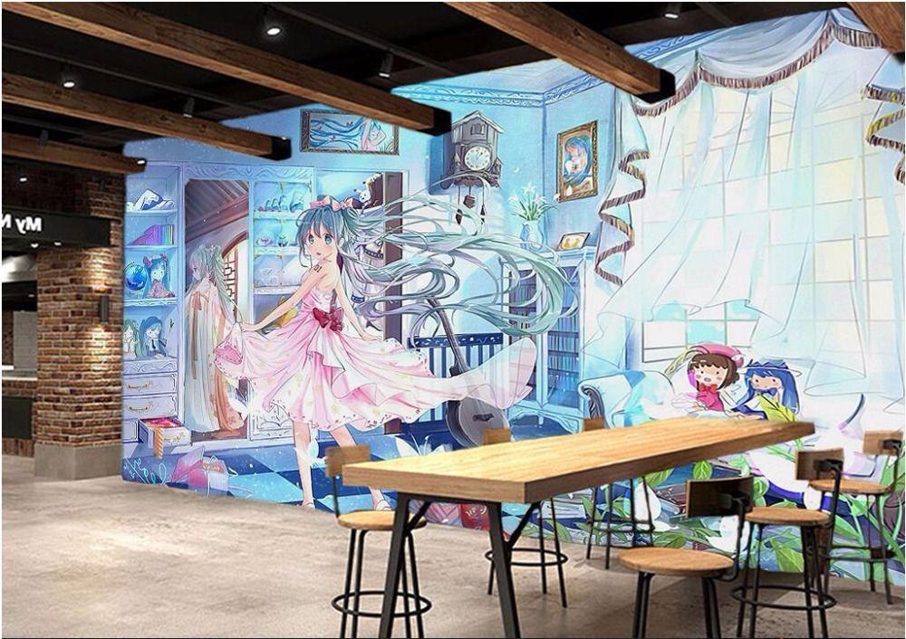 Pas Cher 3d Chambre Photo Papier Peint Personnalise Mural Non Tisse