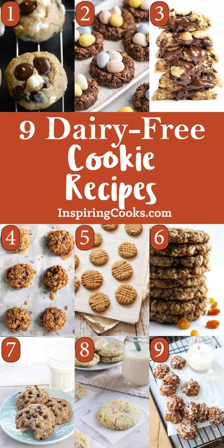 Best Ever Dairy-Free Cookie Recipes with No Butter – My Natural Family