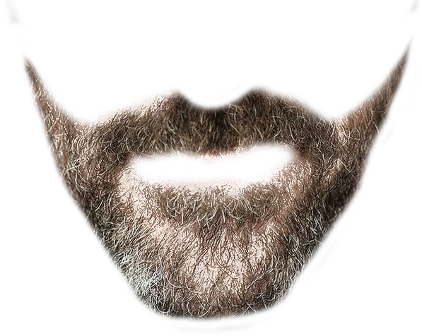 Hair Style Png: Designer Beard Transparent Background