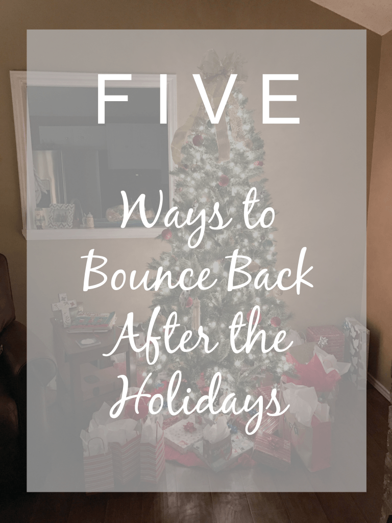 5 Ways to Bounce Back After Holidays | Better Sore than