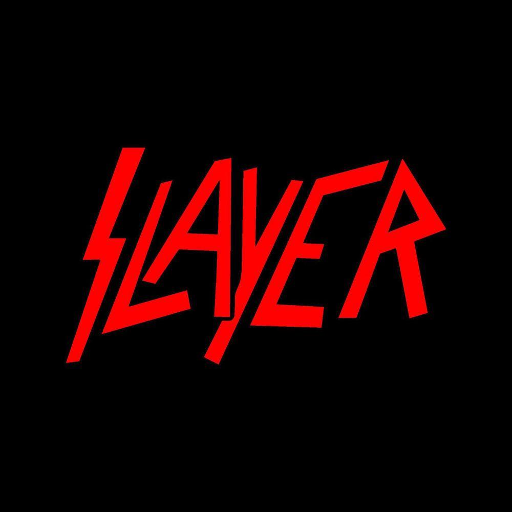 """SLAYER thrash metal Vynil Car Sticker Decal  5/"""""""