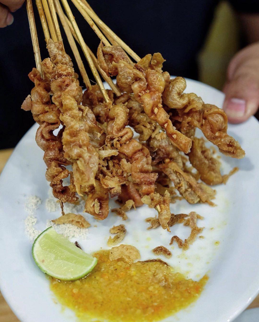Ini Diaaa Sate Taichan Senayan Yang Habis Menang Grab Viral Hero Award 2019 Dan Udah Dapet Lisensi Halal Pencapaian Food