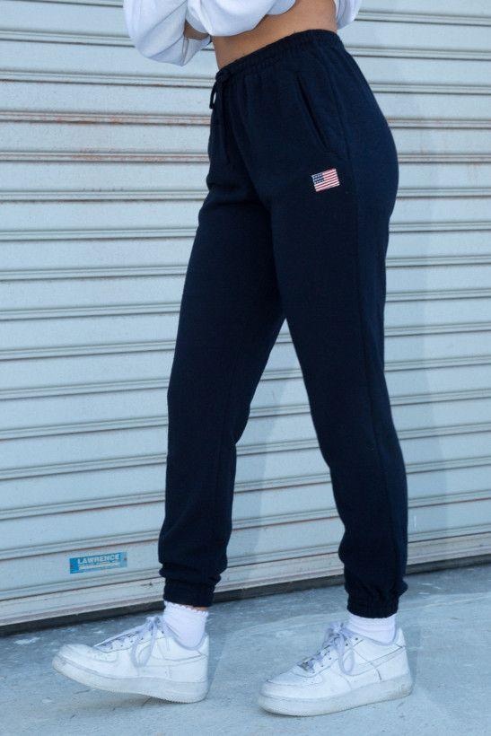 25 + › Rosa USA Flag Jogginghose – Jogginghose – Hose – Bekleidung #sweatpantsoutfit
