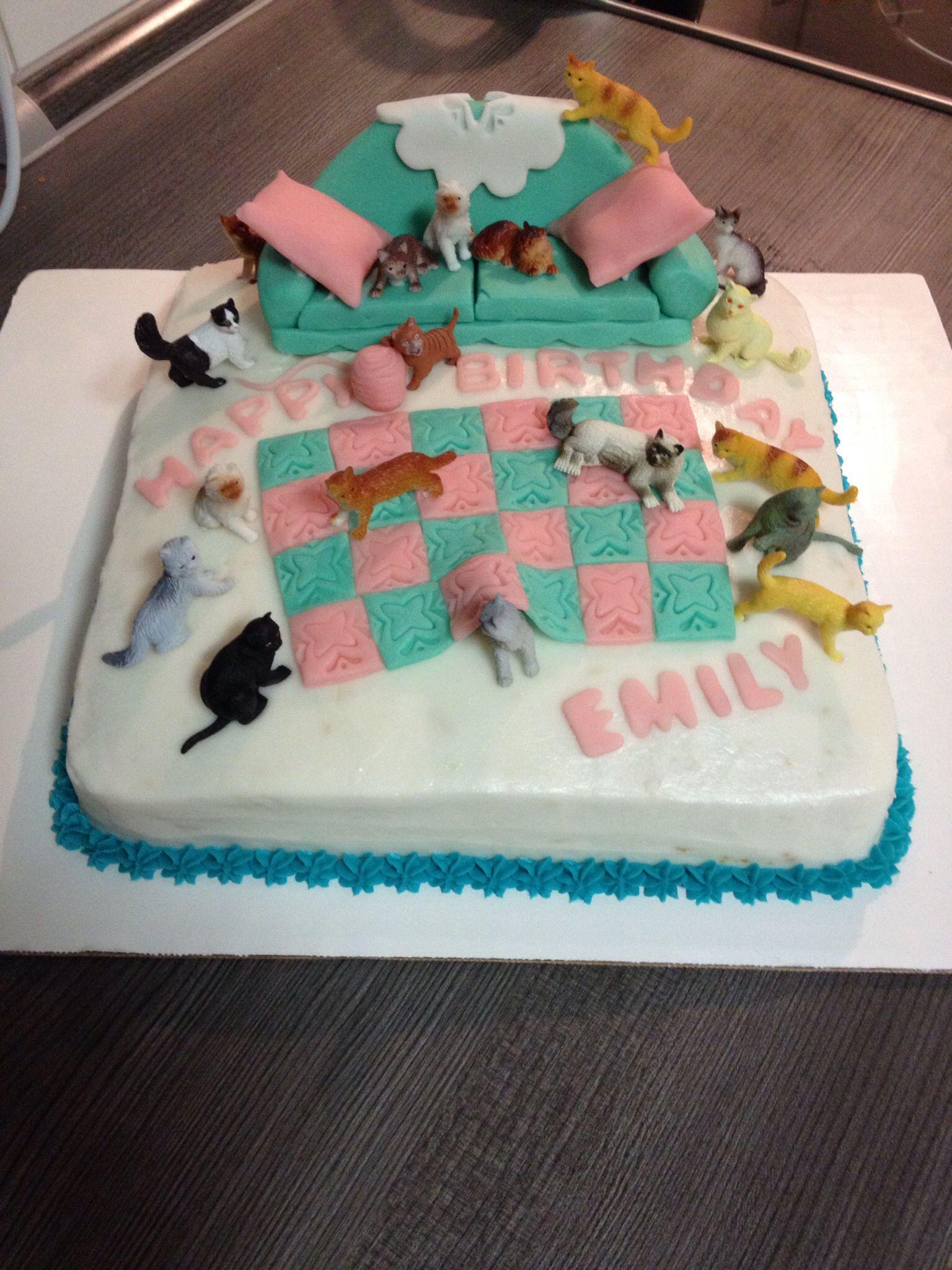 Crazy cat lady cakeMade by Melia Healy Cherrys Treats