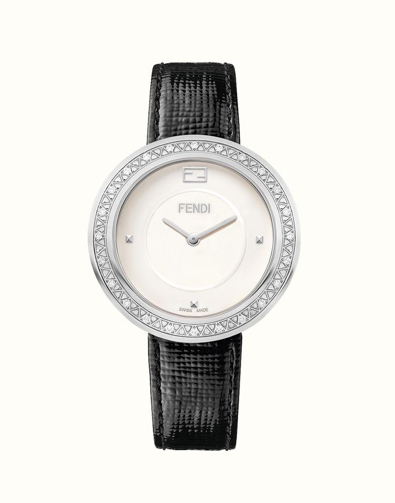 FENDI | 펜디 마이 웨이 글래미 퍼 장식의 다이아몬드 시계