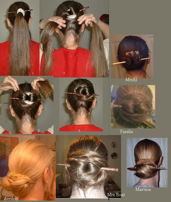 The Styling Station Chinese Bun Hair Styles Pinterest