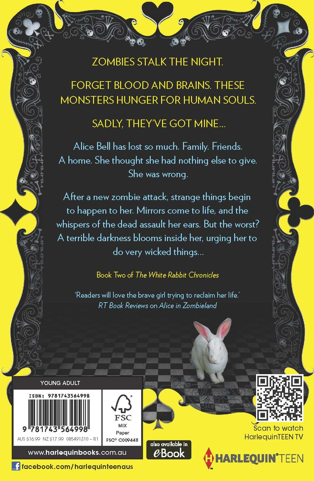 Through The Zombie Glass By Gena Showalter Book 2 In The White Rabbit  Chronicles