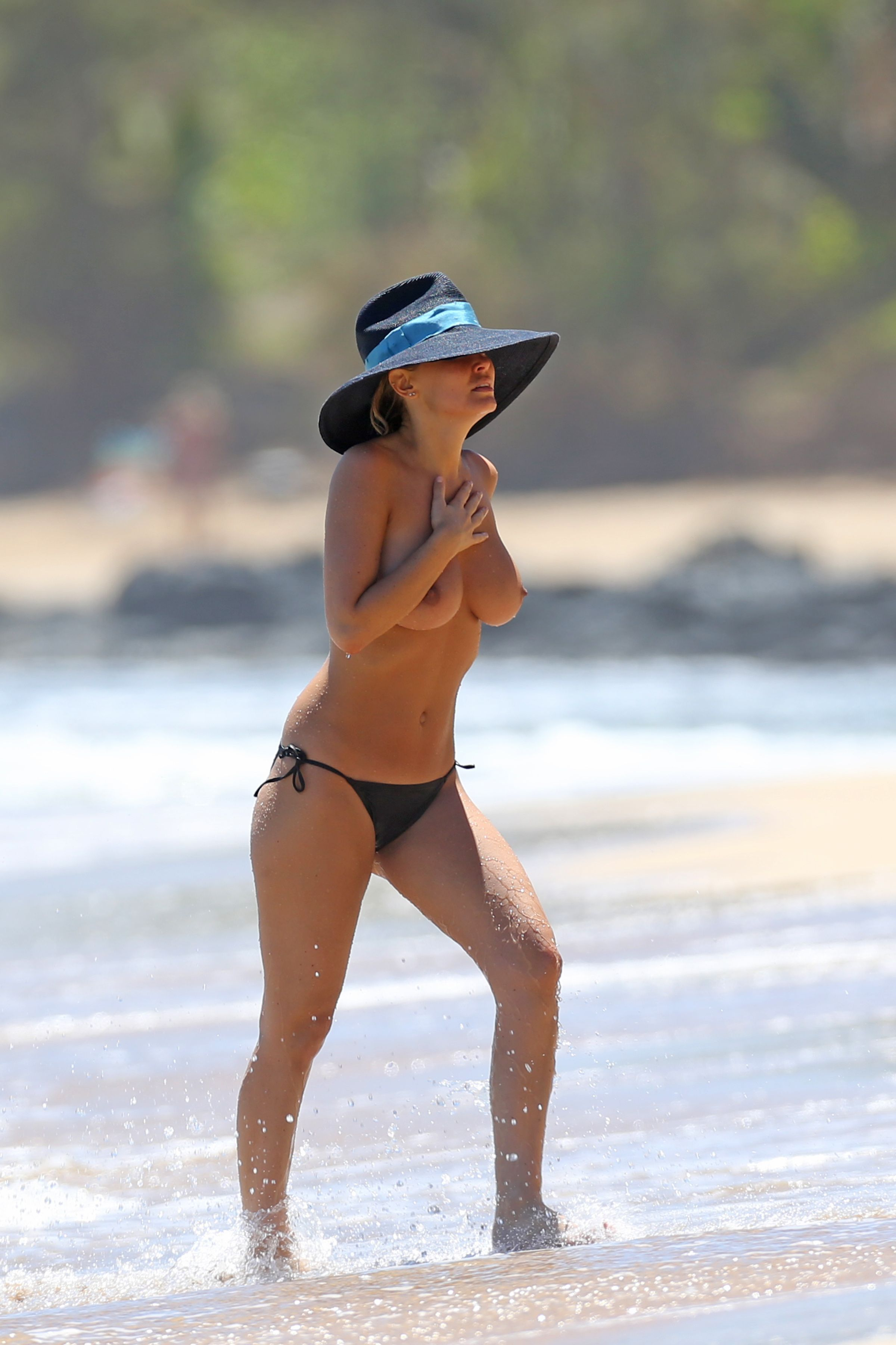 topless beach videos