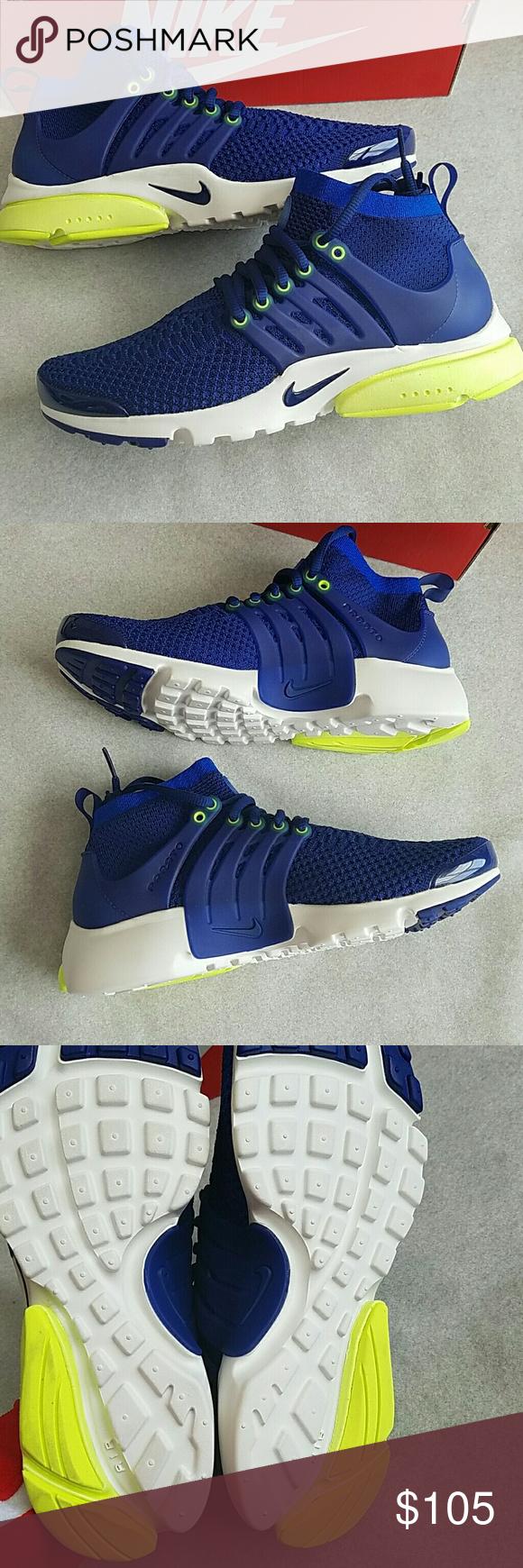 f7c2a618c3a8 Nike Air Presto Flyknit Ultra NWT Women s size 8. Deep royal blue