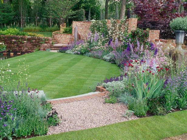 Laurie March On Twitter Large Backyard Landscaping Backyard Landscaping Designs Large Backyard