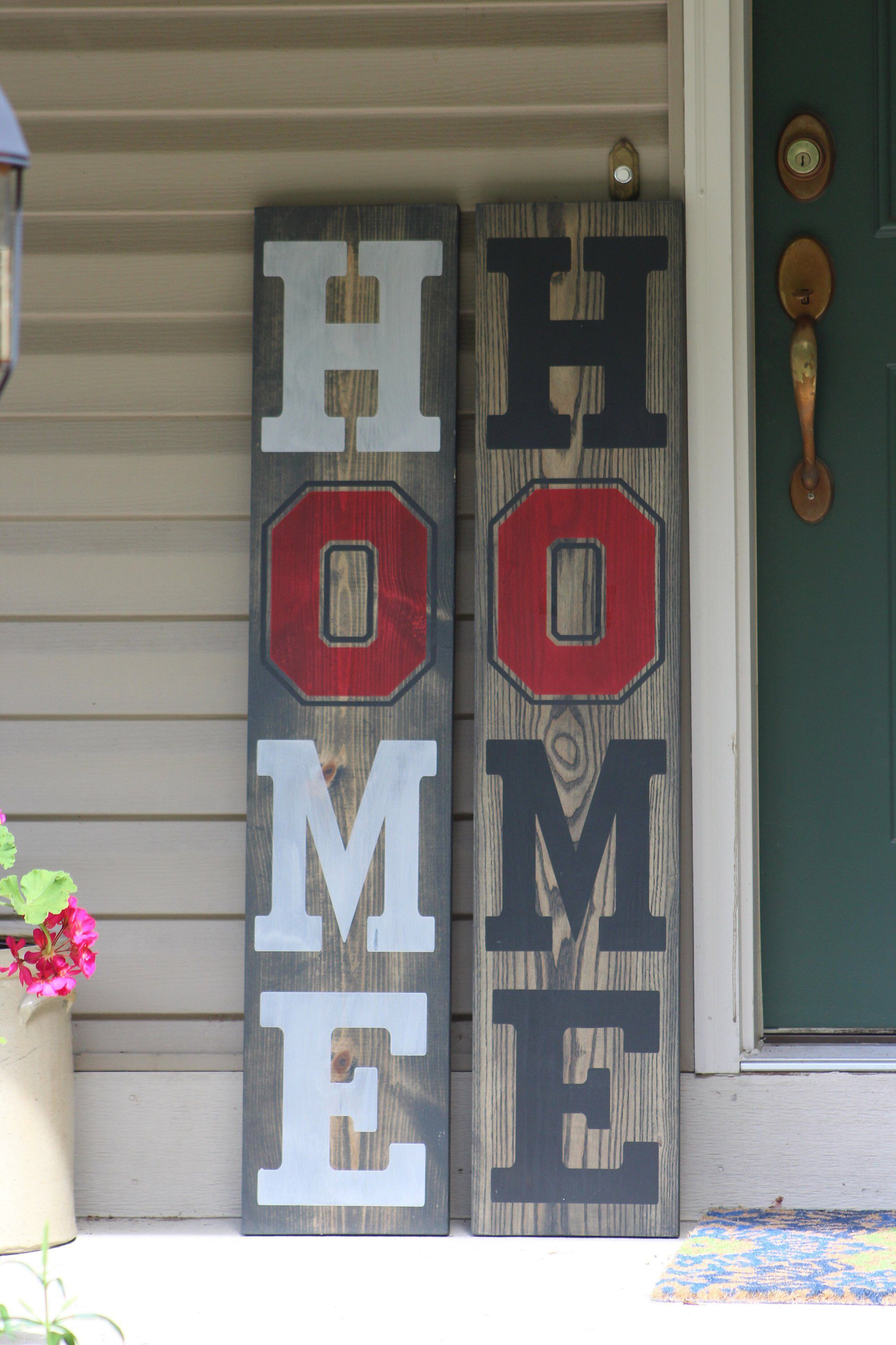 Home State Porch Sign, Welcome, Ohio, State, Porch, Outdoor sign, HOME, Ohio State porch, Ohio State Home, Home Porch