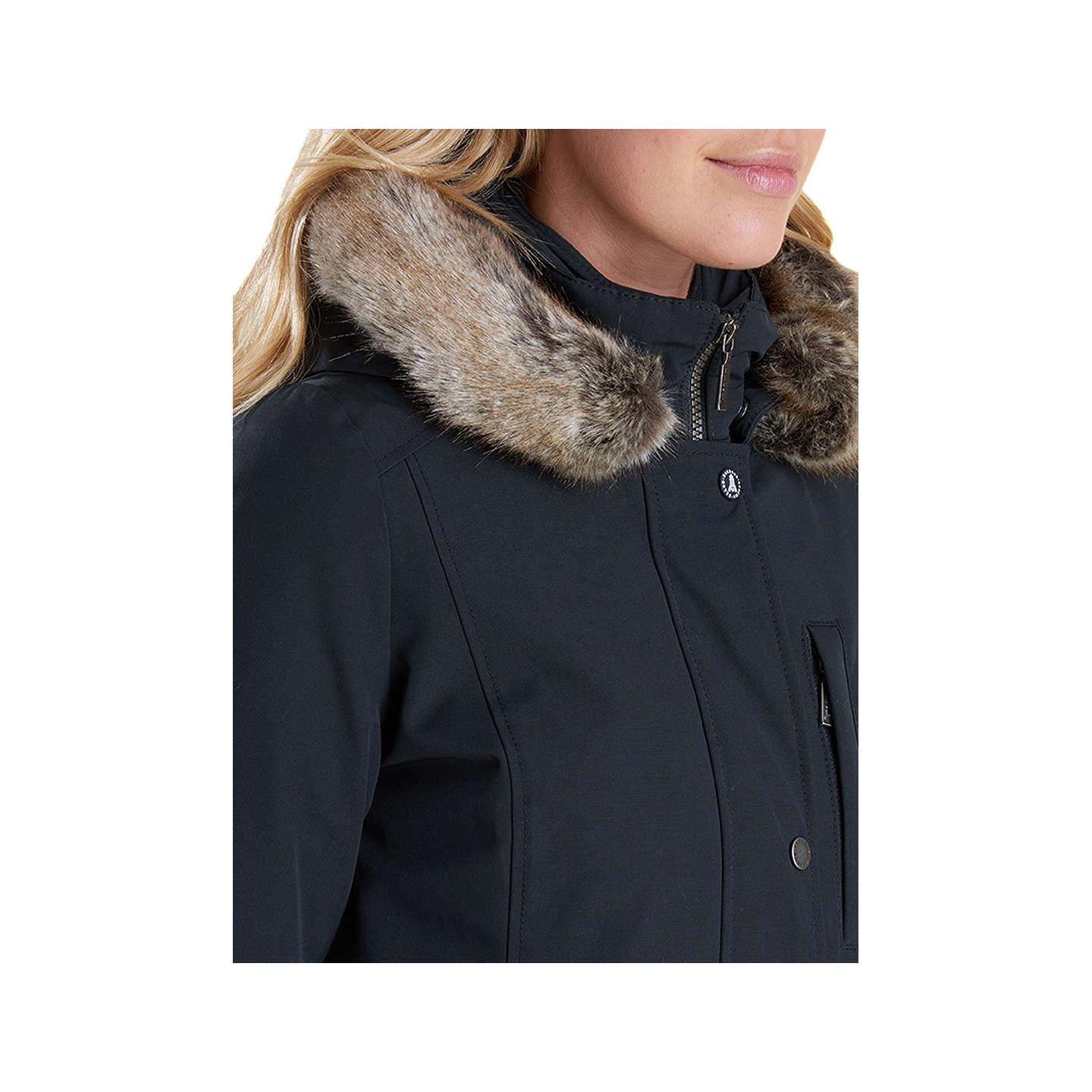 ad1a0c34a06 Barbour Epler Waterproof Breathable Hooded Jacket, Black | Cappotto ...