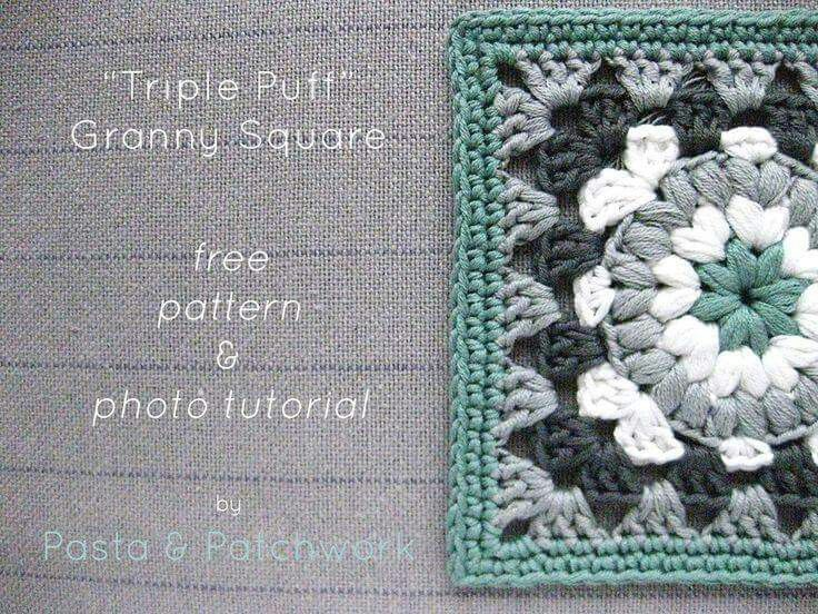 http://www.pastaandpatchwork.com/home/triple-puff-crochet-granny ...
