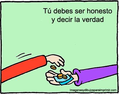Dibujo De Honestidad Para Imprimir2 Png 400 317 Honestidad Honestidad Para Ninos Honradez