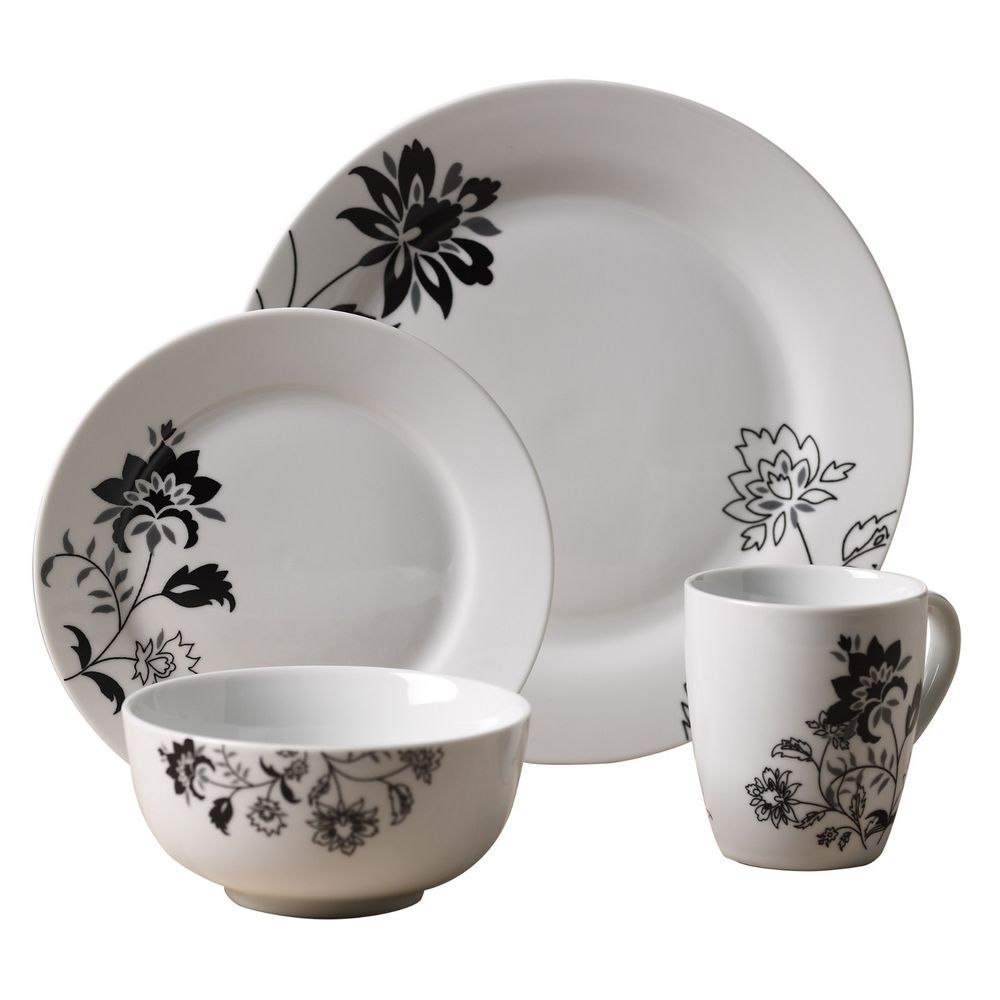 Beau New Tabletops Gallery Rebecca 16 Pc Dinnerware Set Service For 4 Free  Shipping!