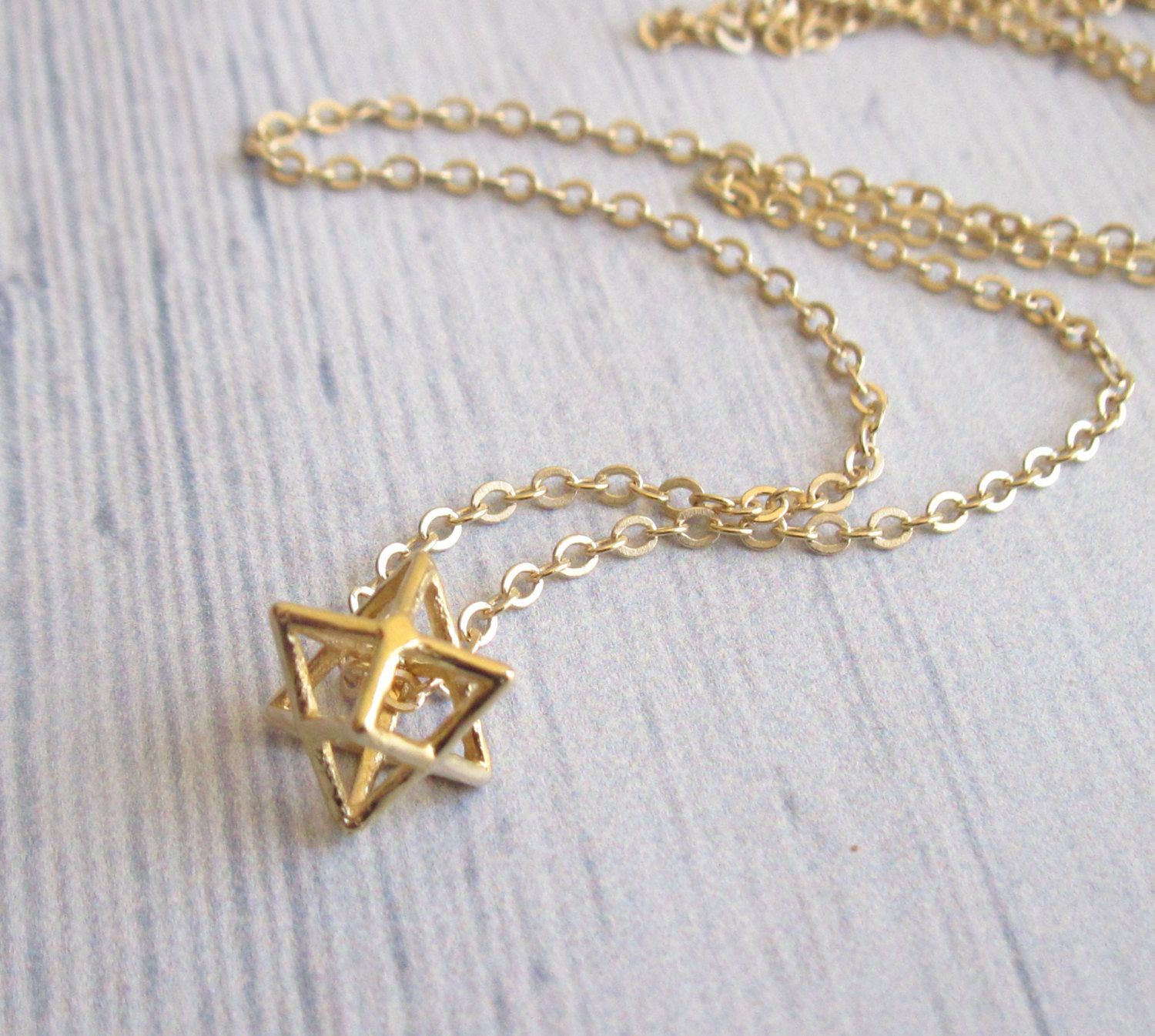 david israel black gold star jewelry pendant magen for pin dog plated of men necklace jewish tag