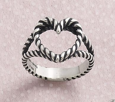 Twisted Wire Heart Ring A Design From Our 60th Anniversary Collection Jamesavery Pretty Jewellery Body Jewelry James Avery Rings