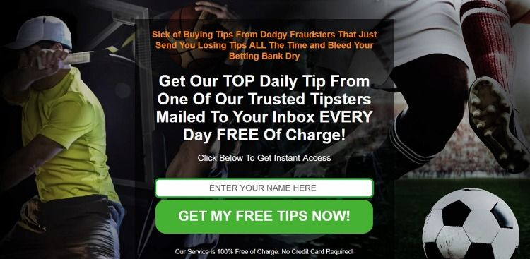 Sick of Buying Tips From Dodgy Fraudsters That Just Send