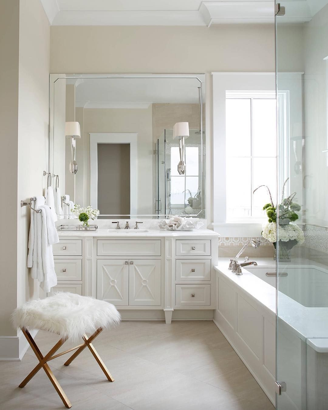Finally Have A Second Bathroom Here S How To Stock It For Guests Modern Master Bathroom Bathroom Renovations Diy Bathroom Remodel