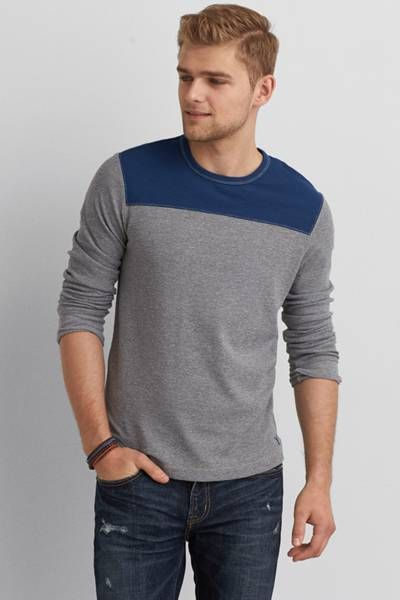 AEO Heritage Football Thermal  by AEO - lx tall - for Josh