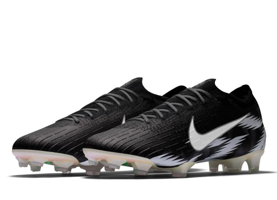 sports shoes 28cd7 a8c7f  football  soccer  futbol  NaijaAllTheWay  Nigeria  nikefootball Nike  Mercurial Vapor 360 Elite FG Naija Premium iD - Black   White