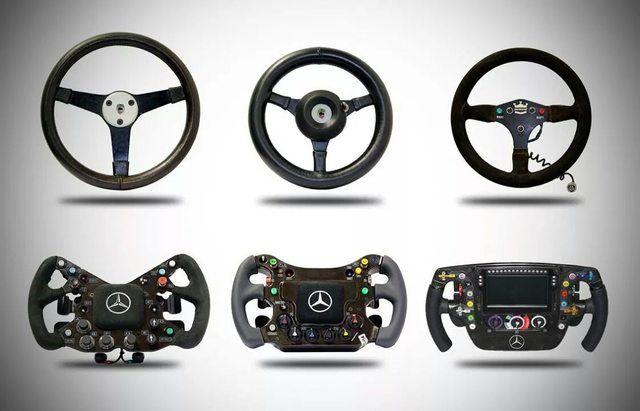 Mercedes F1 Steering Wheel Evolution Mclaren Formula 1 Formula Racing Steering Wheel