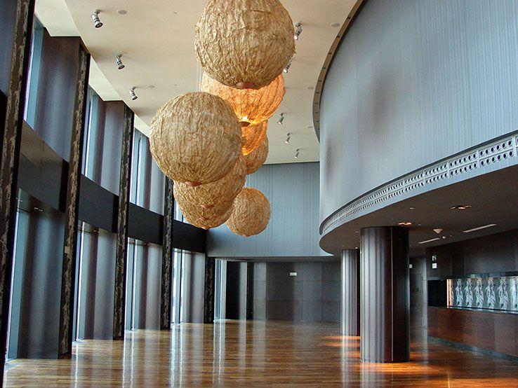 Hotel Eurostars Madrid Tower | Interieurbouwer: Teisa | Locatie: Madrid | Jaar: 2010 | Materiaal: Fibralac
