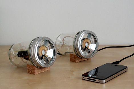 Audiojar speakers (via murraymitchell.com - very cool blog)