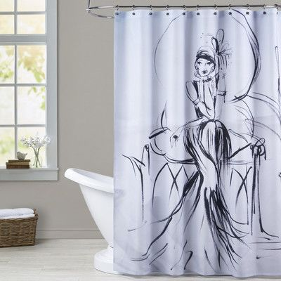 Americanflat Age Glamour Shower Curtain