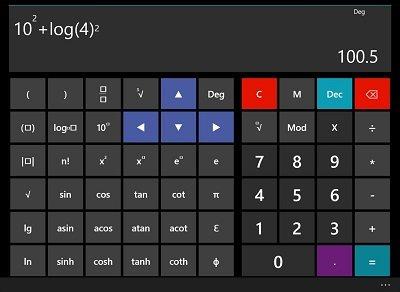 Best free Calculator apps for Windows 10 Windows 10