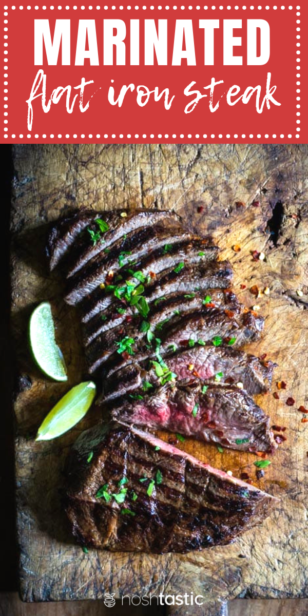 Grilled Flat Iron Steak