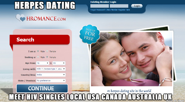 herpes and dating uk
