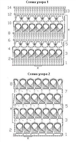 схемы узоров 1-2 like broomstick crochet but easier
