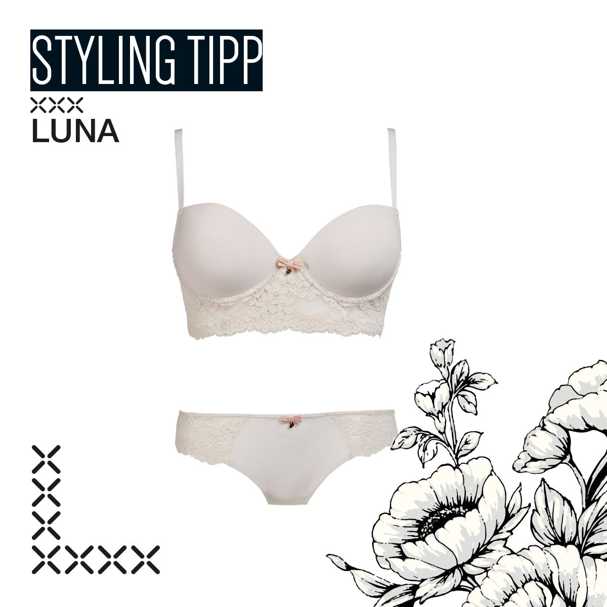 Skiny's favourite of this month - Luna @skinybodywear