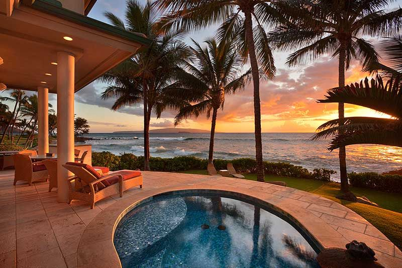 Groovy Oceanfront Homes In Hawaii Maui Oceanfront Homes For Sale Home Remodeling Inspirations Propsscottssportslandcom