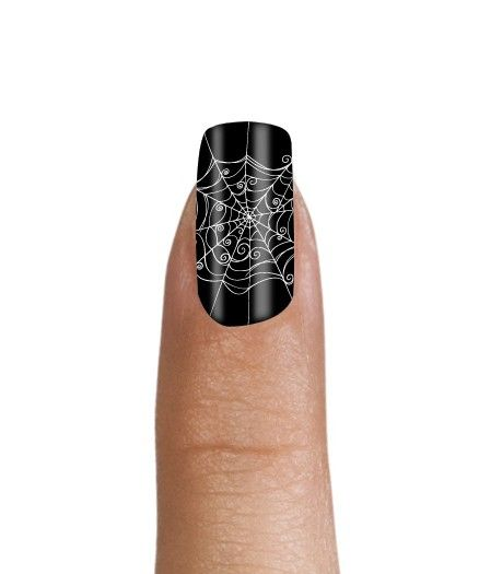 Halloween nail shields! This one is for you elegant ...